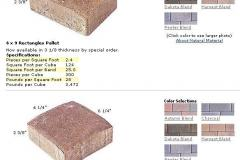 EP Henry Rectangles and Square Pavers MD