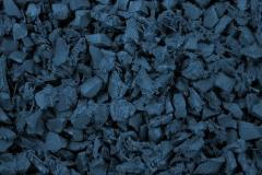 Caribbean Blue Rubber Mulch Delivery Maryland